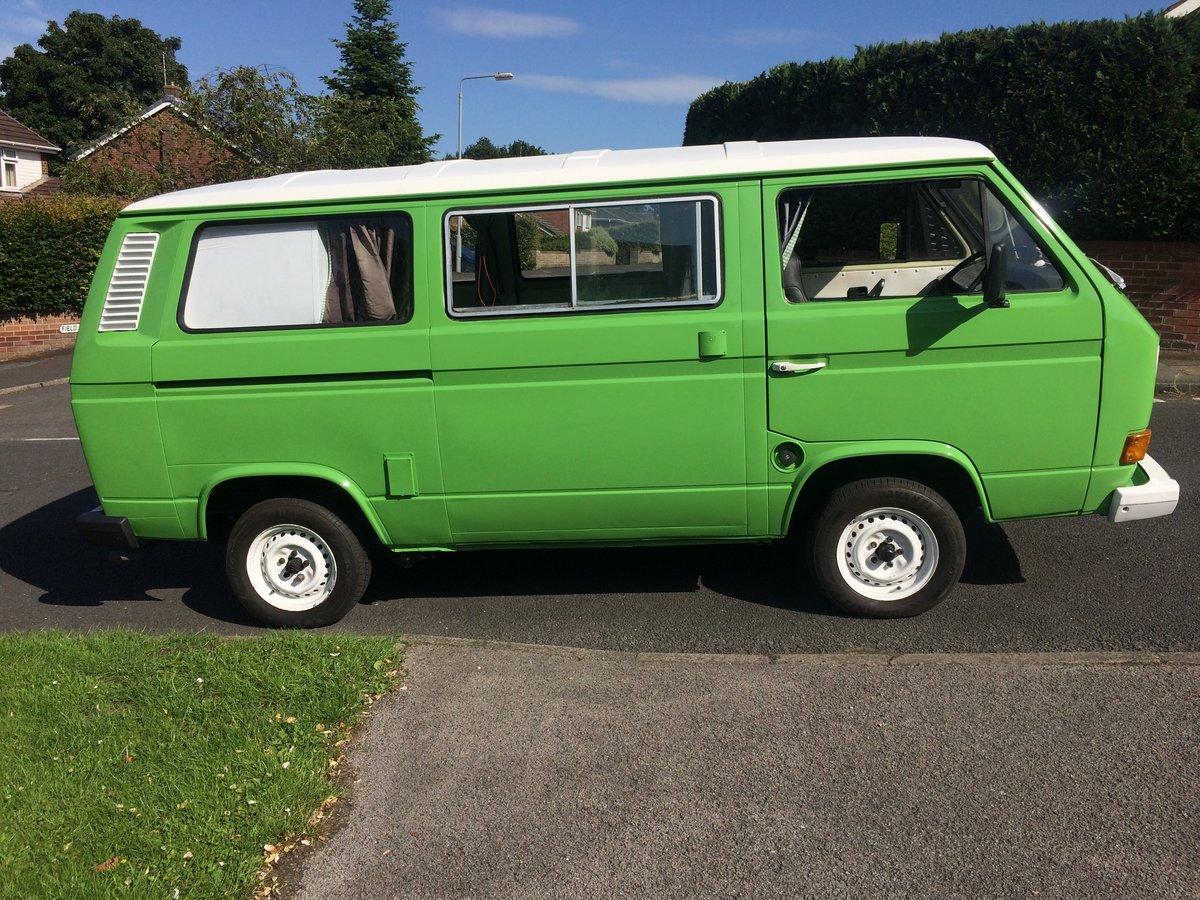 1982 VW campervan t25 fully restored 2l engine reb For Sale (picture 4 of 6)