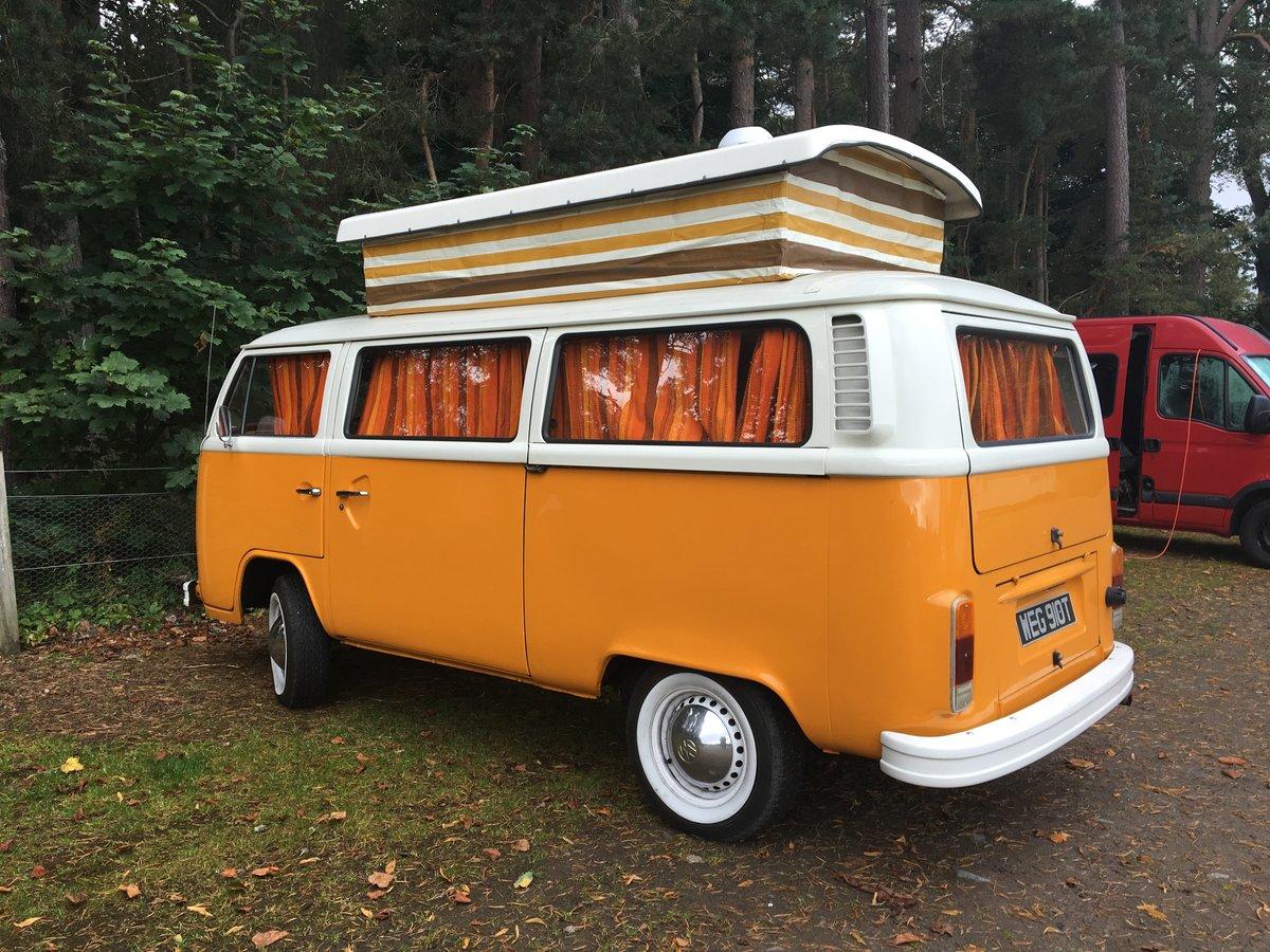 1978 VW T2 Camper 2 litre 'Marigold' For Sale (picture 1 of 6)