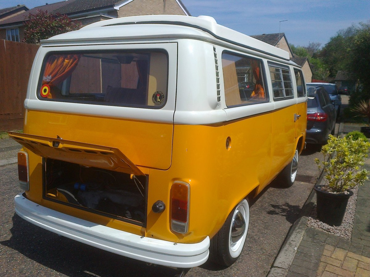 1978 VW T2 Camper 2 litre 'Marigold' For Sale (picture 4 of 6)