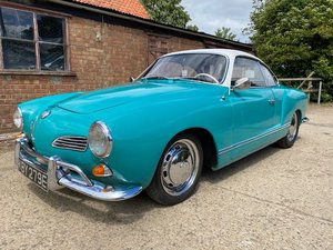 VW KARMANN GHIA Coupe with 58000 miles