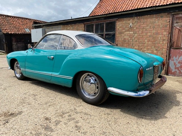 1967 VW KARMANN GHIA Coupe with 58000 miles For Sale (picture 3 of 6)