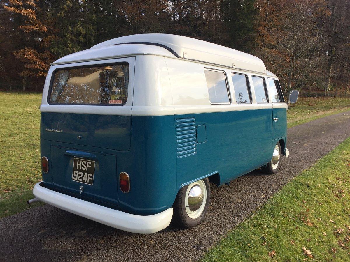 1967 VW Devon Splitscreen Camper RHD For Sale (picture 2 of 6)