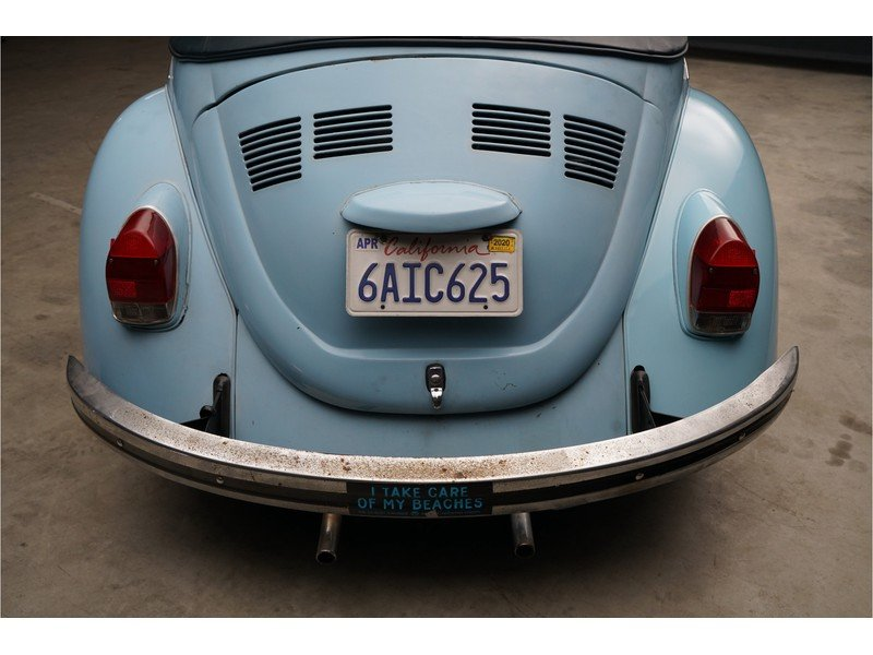 1971 Volkswagen Karmann Käfer / Beetle convertible Solid base, ni For Sale (picture 6 of 6)