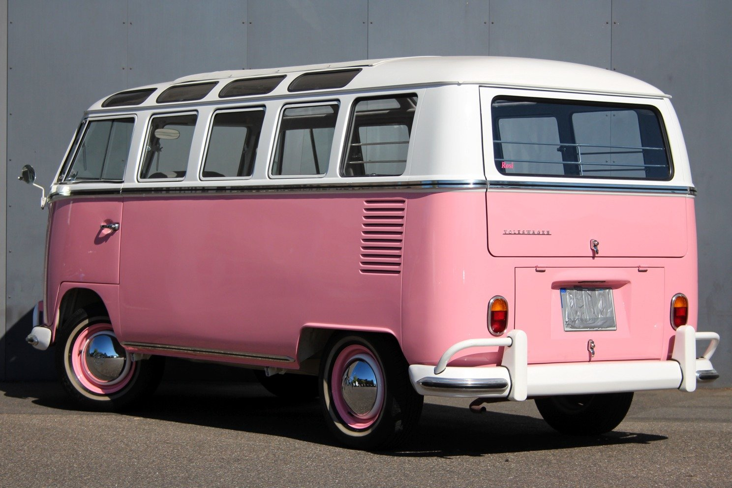 1966 VW T1 Samba Bus LHD - Completely restored! For Sale (picture 2 of 6)