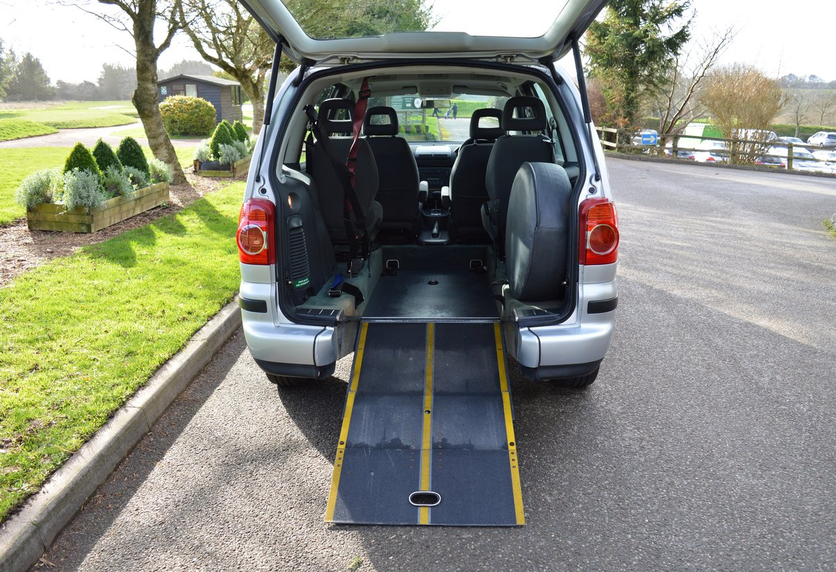 2006 VW Sharan 1.9 TDI PD S Auto Wheelchair Access WAV For Sale (picture 1 of 6)