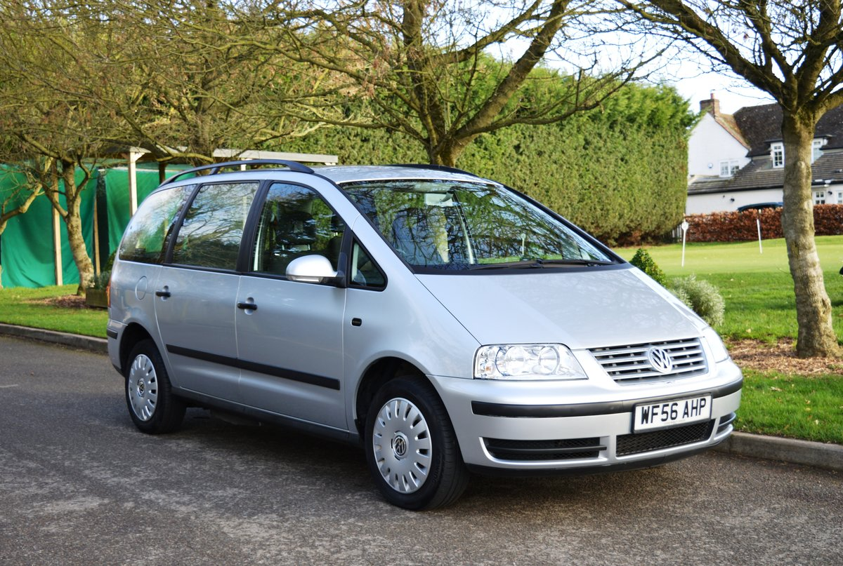 2006 VW Sharan 1.9 TDI PD S Auto Wheelchair Access WAV For Sale (picture 3 of 6)