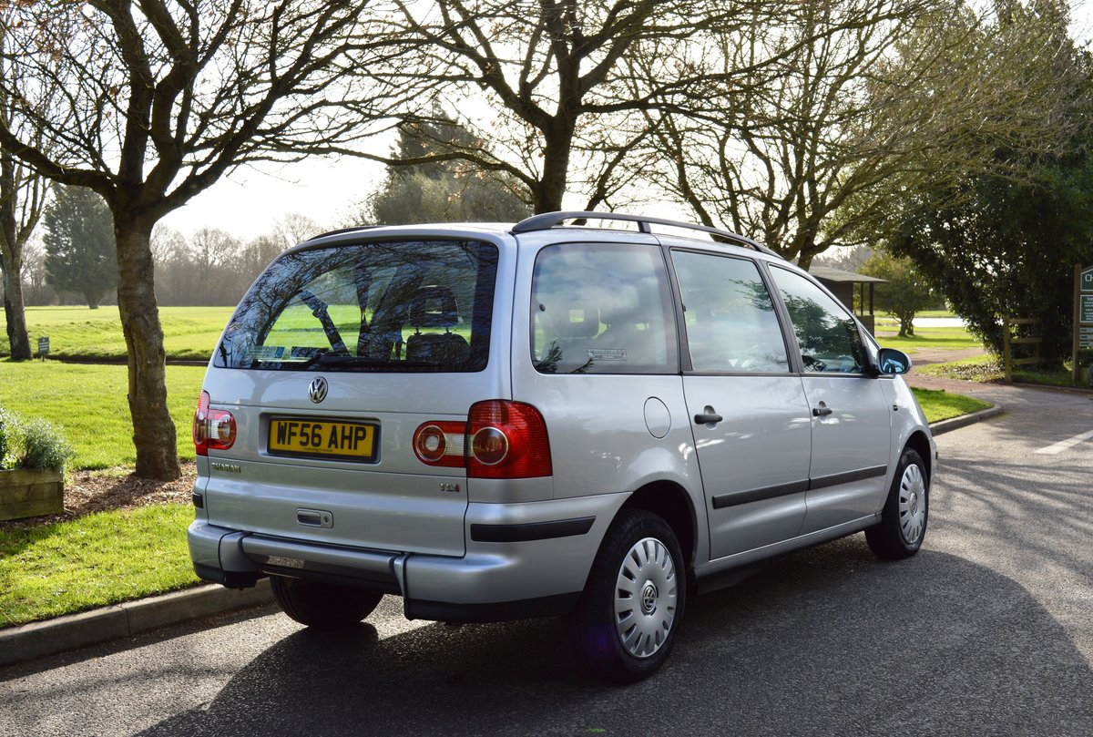2006 VW Sharan 1.9 TDI PD S Auto Wheelchair Access WAV For Sale (picture 4 of 6)