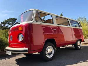 1973 VW T2 CAMPER LHD Factory Sunroof 16900 miles For Sale