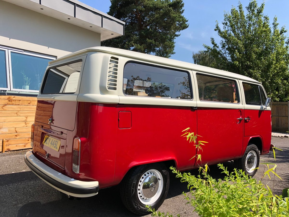 1973 VW T2 CAMPER LHD Factory Sunroof 16900 miles For Sale (picture 3 of 6)