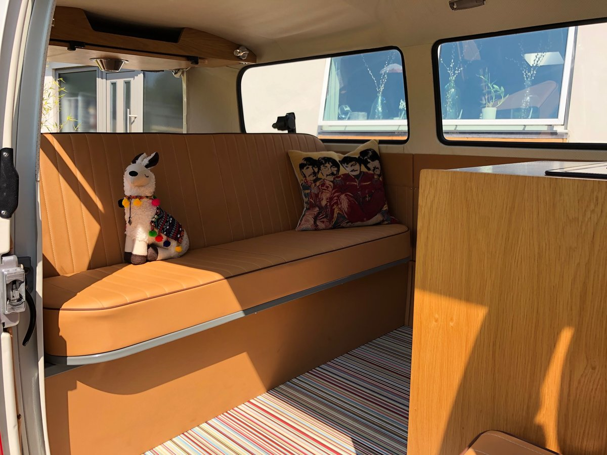 1973 VW T2 CAMPER LHD Factory Sunroof 16900 miles For Sale (picture 6 of 6)