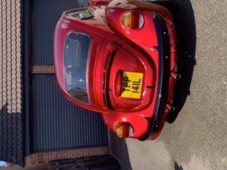 VW beetle Super resto mod -German look