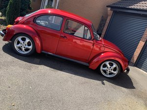 1973 VW beetle resto mod -German look