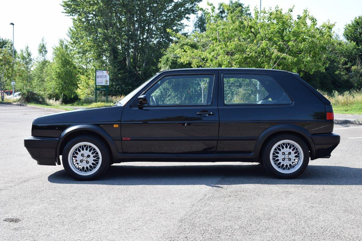 VW VOLKSWAGEN GOLF MK2 GTI 8V 3DR BLACK 1991  SOLD (picture 4 of 12)