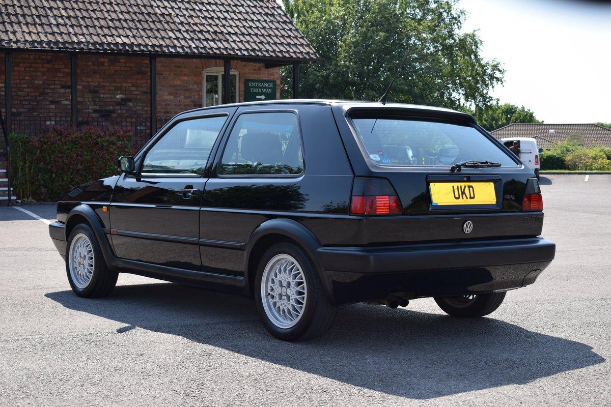 VW VOLKSWAGEN GOLF MK2 GTI 8V 3DR BLACK 1991  SOLD (picture 5 of 12)