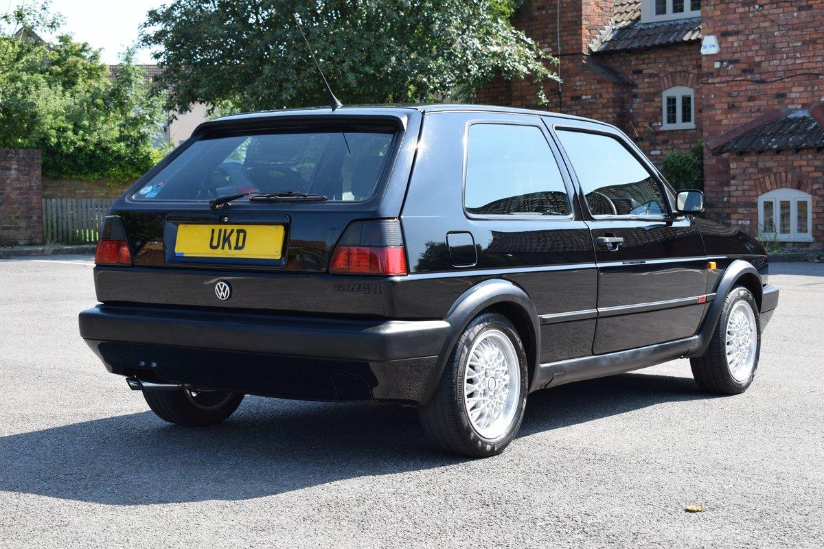 VW VOLKSWAGEN GOLF MK2 GTI 8V 3DR BLACK 1991  SOLD (picture 7 of 12)