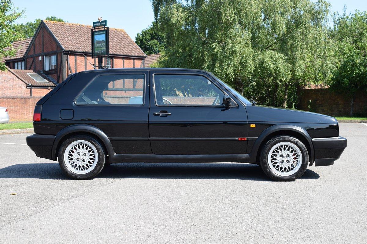 VW VOLKSWAGEN GOLF MK2 GTI 8V 3DR BLACK 1991  SOLD (picture 8 of 12)