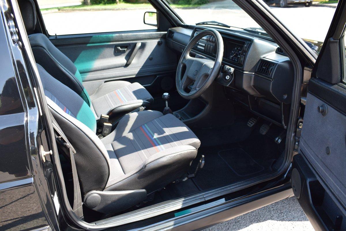VW VOLKSWAGEN GOLF MK2 GTI 8V 3DR BLACK 1991  SOLD (picture 9 of 12)