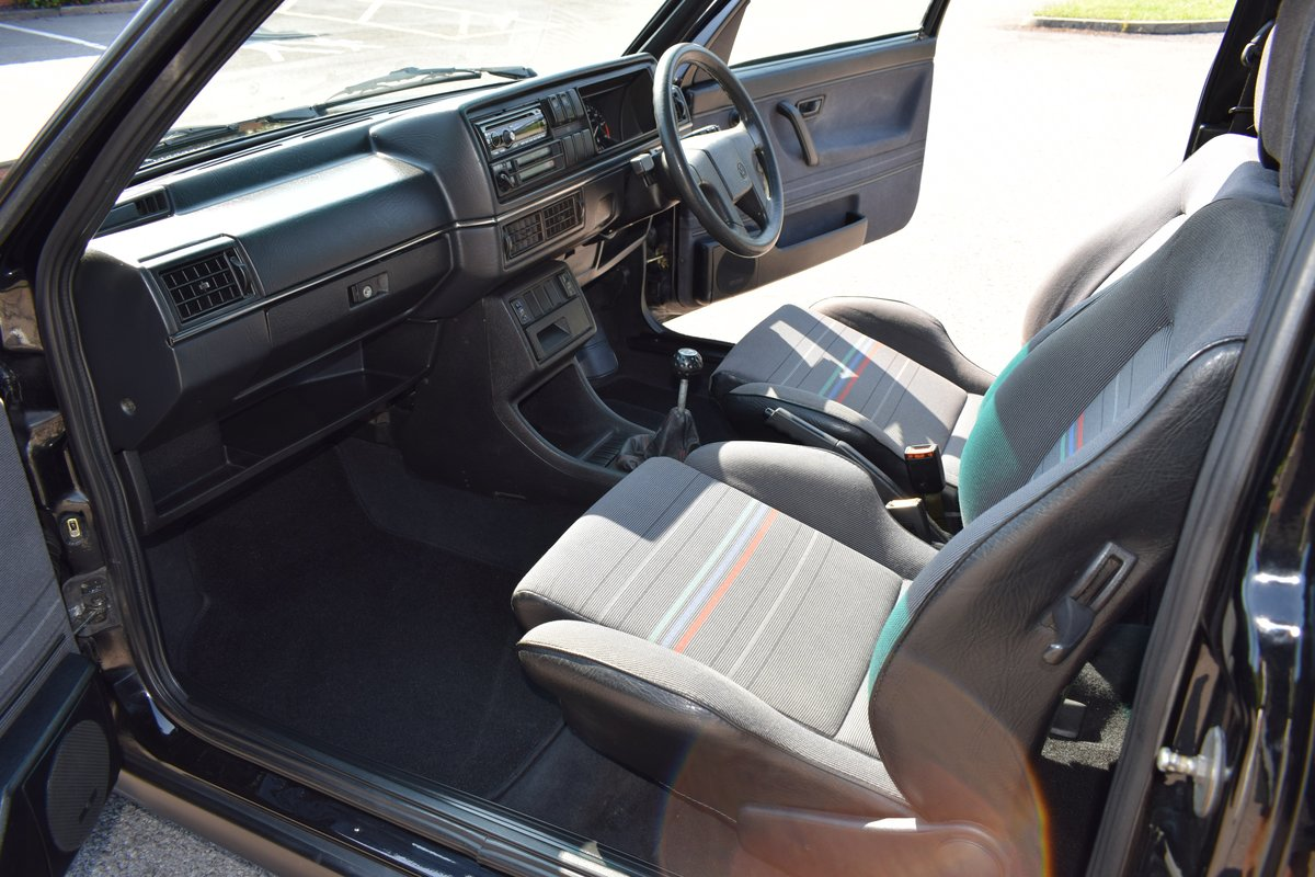 VW VOLKSWAGEN GOLF MK2 GTI 8V 3DR BLACK 1991  SOLD (picture 11 of 12)
