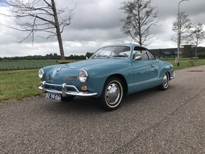 Unrestored Karmann Ghia