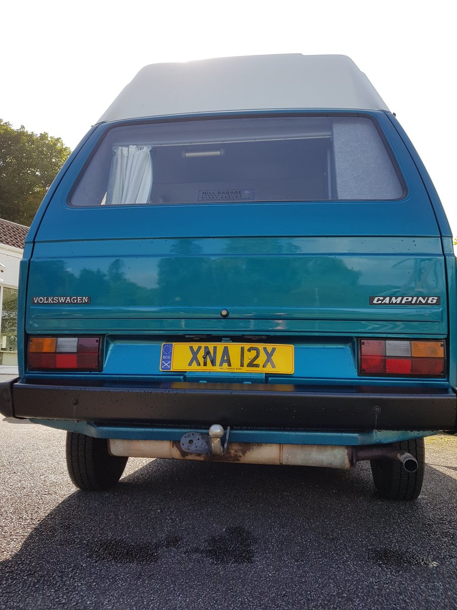 1982 VW T25  Camper Professional fully refurbed For Sale (picture 4 of 6)