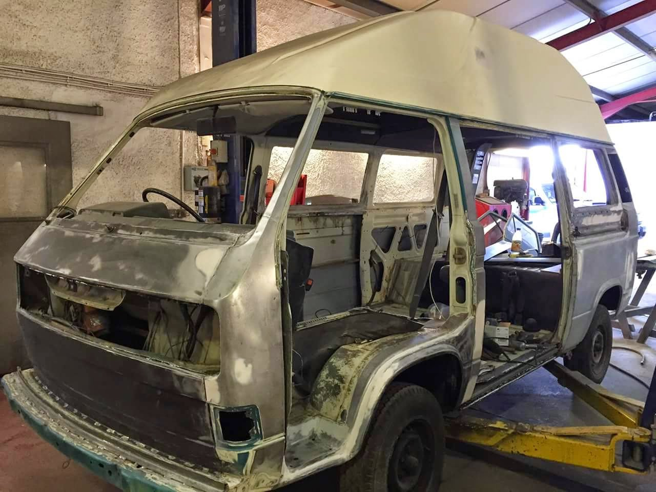 1982 VW T25  Camper Professional fully refurbed For Sale (picture 6 of 6)