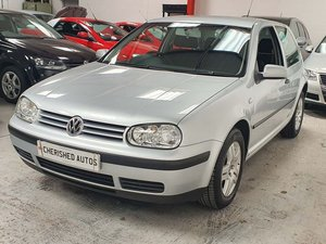 VOLKSWAGEN GOLF 1.4 MATCH*GEN 50,000 MILES*TIMEWARP CAR