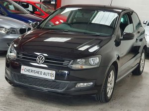 BLACK VOLKSWAGEN POLO 1.2 MONDA0*GENUINE 31,000 MILES