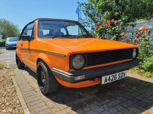 1984 VW Golf MK1 GTI Convertible