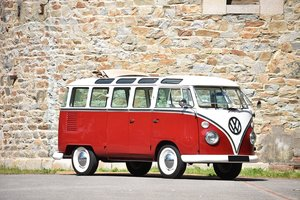 "1975 Volkswagen Combi T1 Samba-bus ""23 fenêtres"" For Sale by Auction"