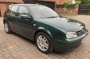 2000 VOLKSWAGEN GOLF VR5 AUTOMATIC For Sale by Auction