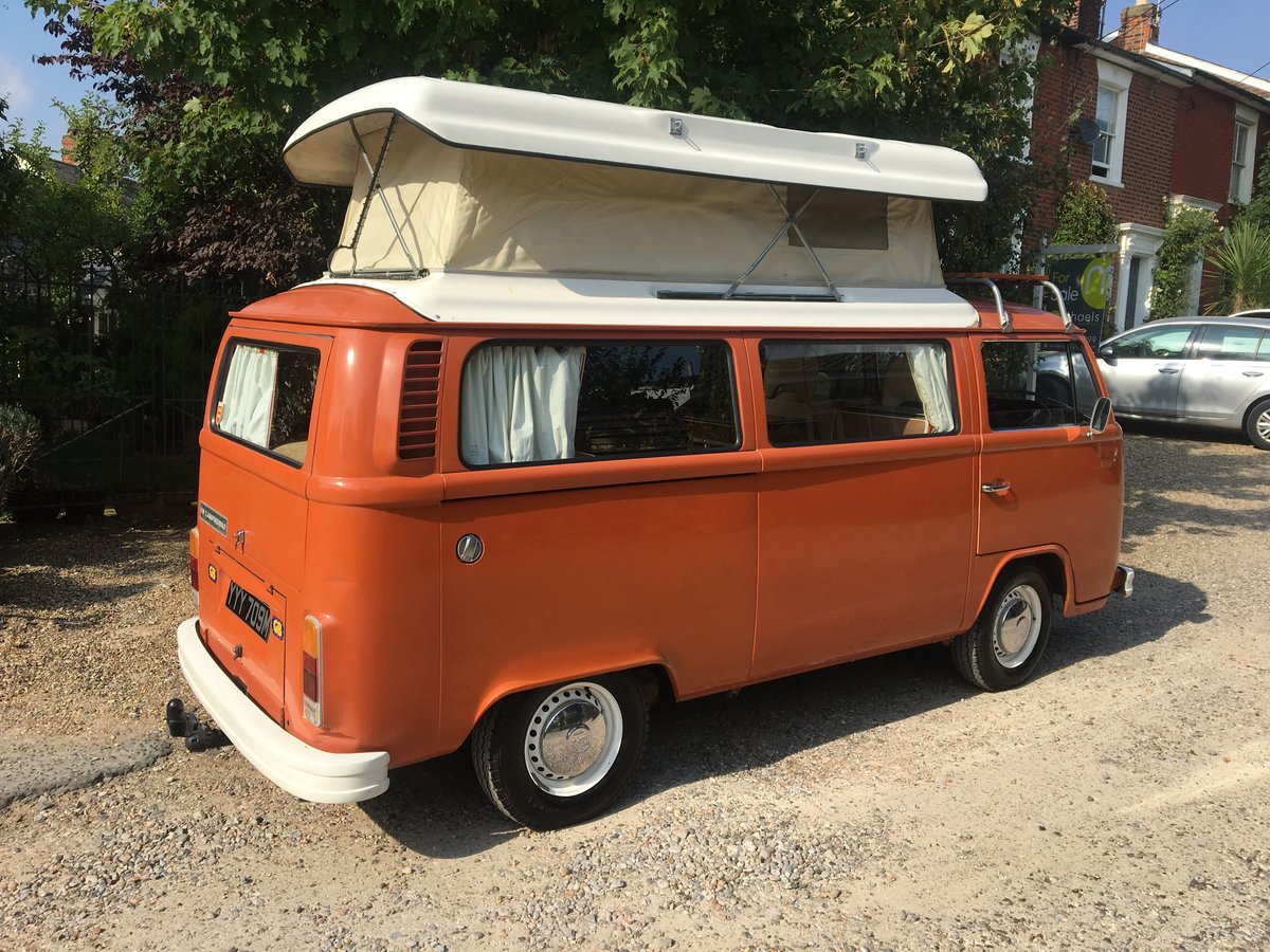 1974 VW Camper 2l RHD 5 seats SOLD (picture 6 of 6)