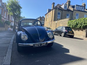 1967 Beetle UK RHD never welded