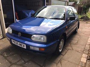 1997 Beautiful VW Golf Mk3