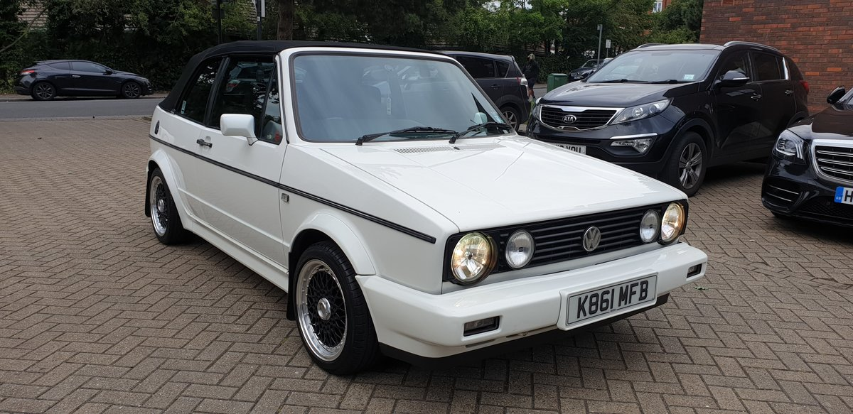 1992 Vw Golf Mk1 1.8L Clipper Cabriolet  SOLD (picture 1 of 4)