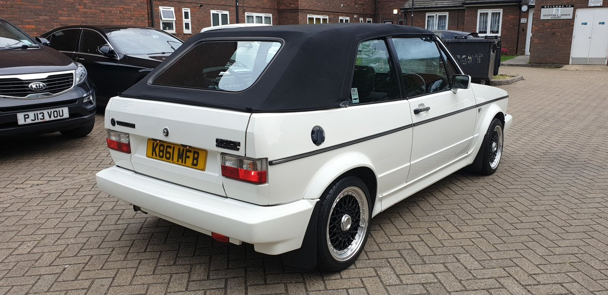 1992 Vw Golf Mk1 1.8L Clipper Cabriolet  SOLD (picture 2 of 4)