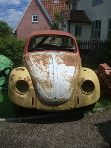 1971 VW Beetle project