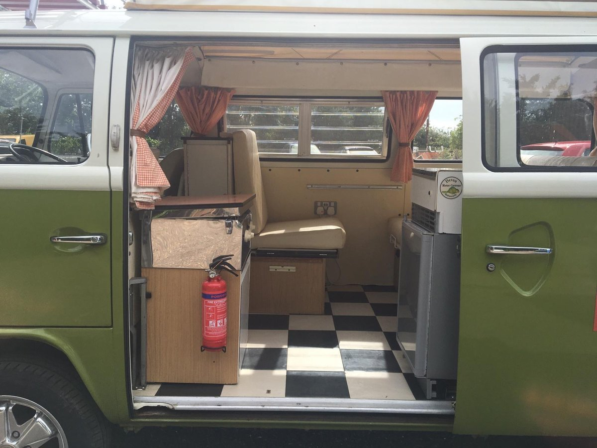 1976 Vw campervan devon (ready to go) For Sale (picture 2 of 6)