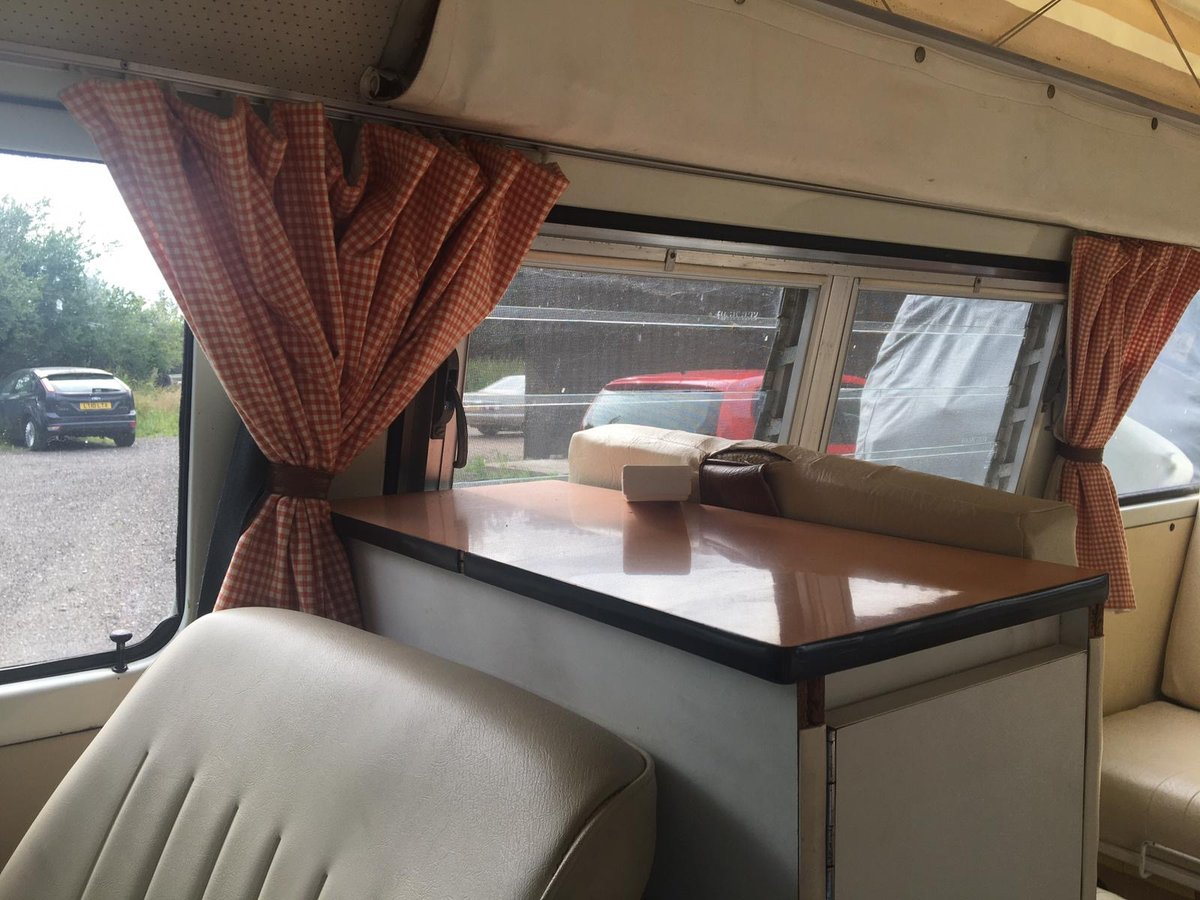 1976 Vw campervan devon (ready to go) For Sale (picture 5 of 6)