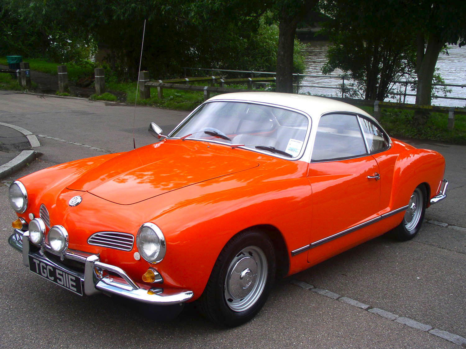 1967 Volkswagen Type 14 Karmann Ghia Coupe - Original RHD For Sale (picture 1 of 6)