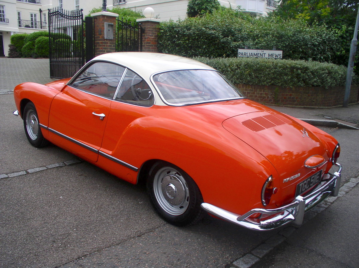 1967 Volkswagen Type 14 Karmann Ghia Coupe - Original RHD For Sale (picture 2 of 6)