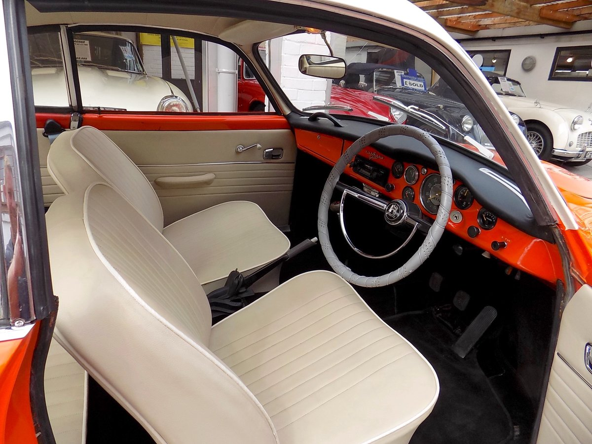 1967 Volkswagen Type 14 Karmann Ghia Coupe - Original RHD For Sale (picture 3 of 6)