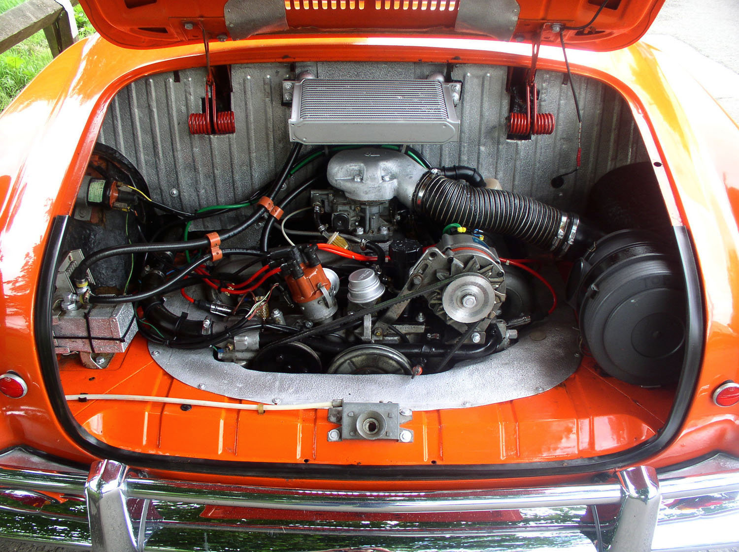 1967 Volkswagen Type 14 Karmann Ghia Coupe - Original RHD For Sale (picture 4 of 6)