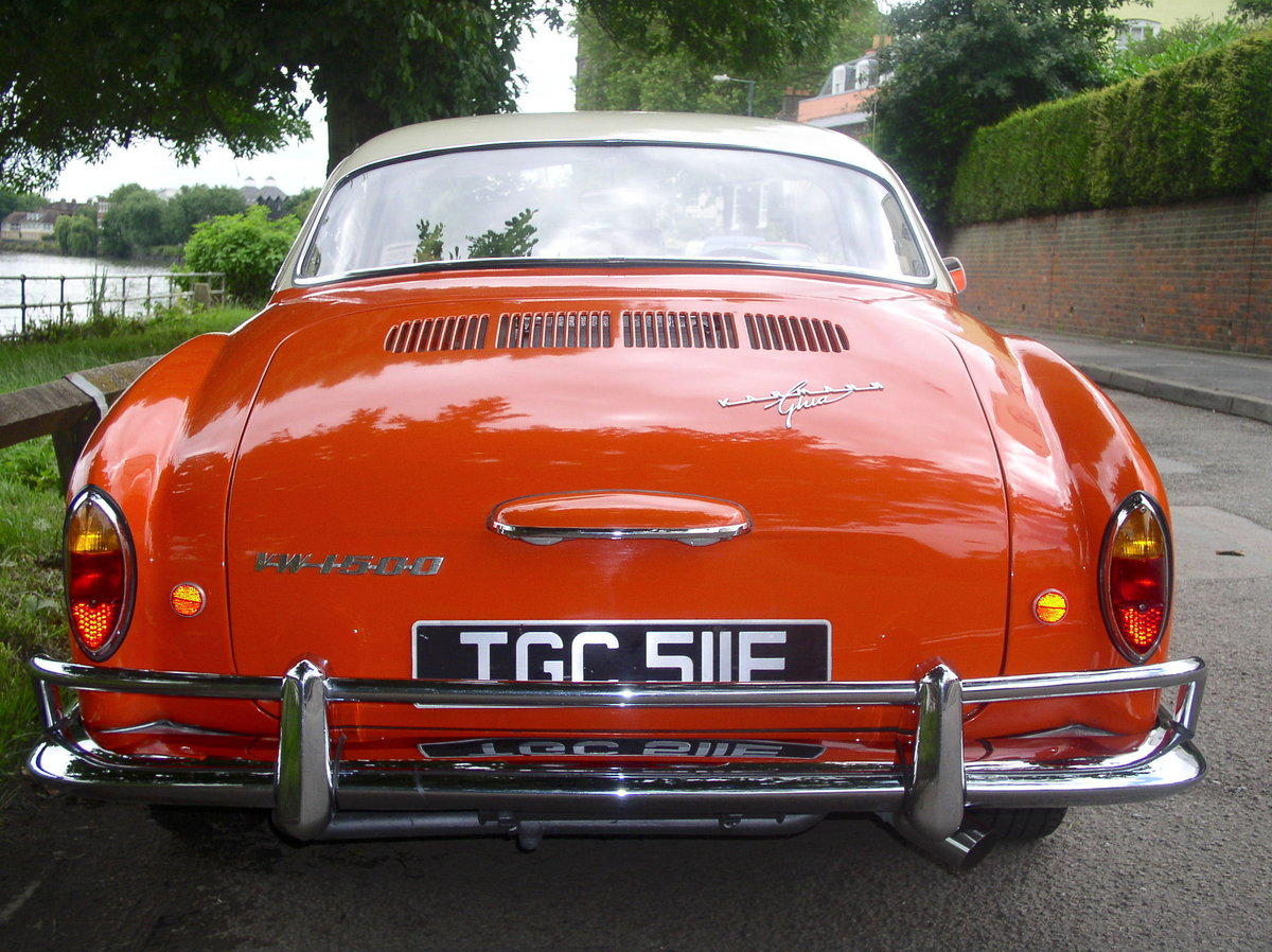 1967 Volkswagen Type 14 Karmann Ghia Coupe - Original RHD For Sale (picture 5 of 6)