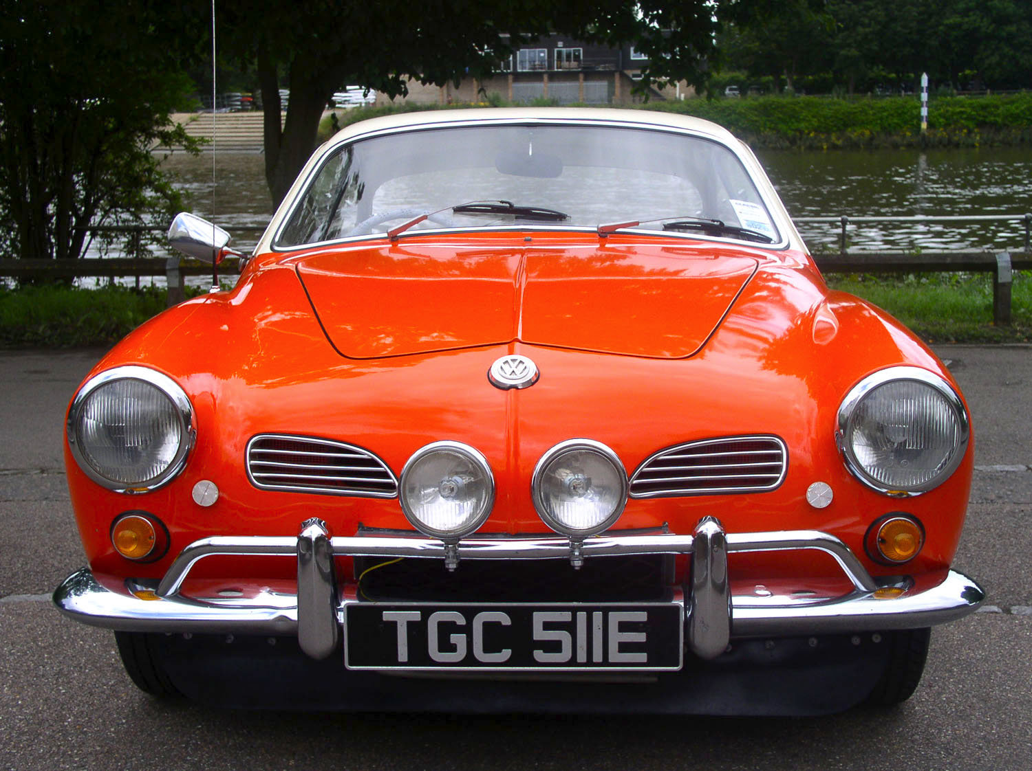1967 Volkswagen Type 14 Karmann Ghia Coupe - Original RHD For Sale (picture 6 of 6)