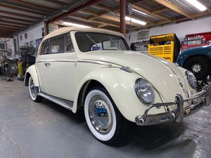 1961 VW BEETLE CONVERTIBLE