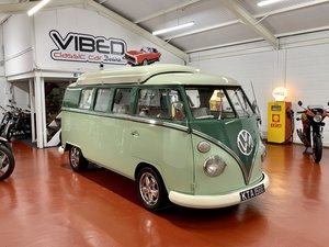 1967 VW Split Screen Camper // Factory UK RHD // Rare Walk Thru