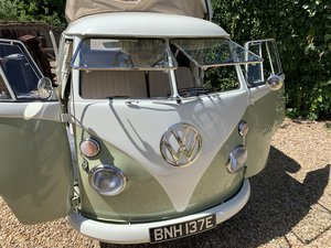 1967 Fully restored T2 Split Screen camper