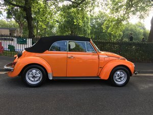 1975 immaculate RHD karmann beetle convertible