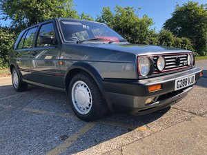 1990 Volkswagon Golf GTi. MK2. Low mileage, 3 Owners.