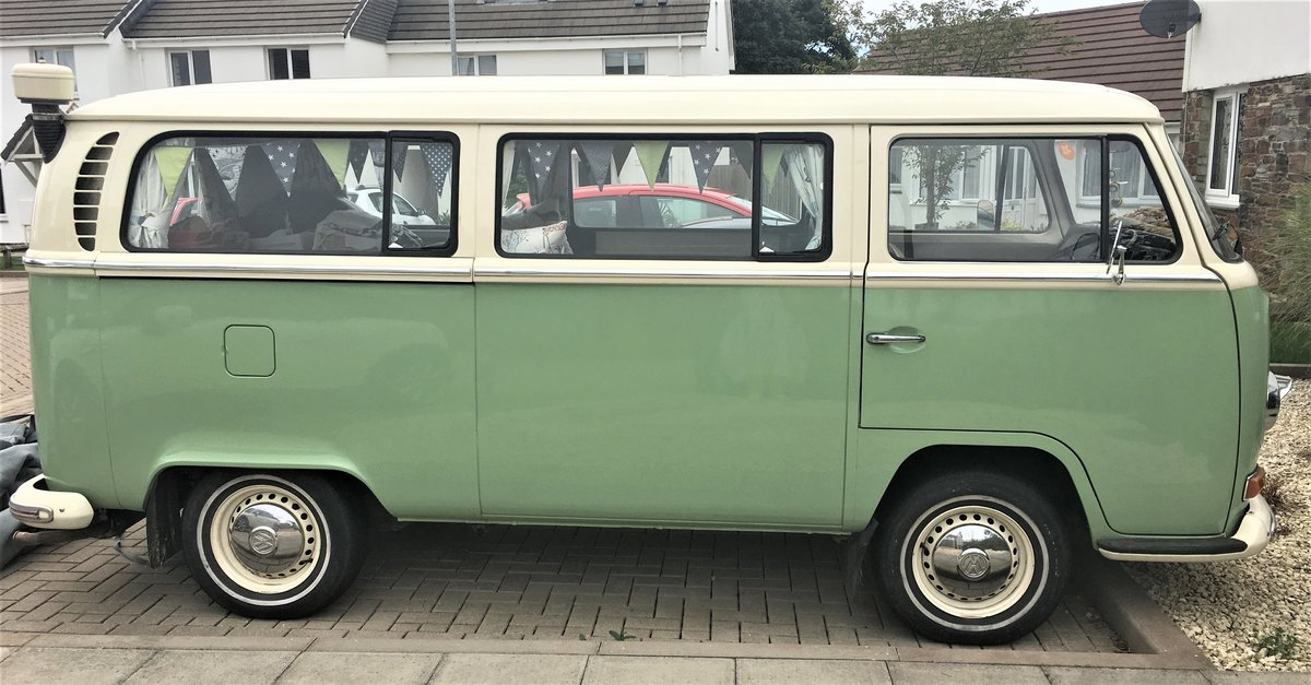 1971 VW T2 Early Bay Window Tin Top RHD For Sale (picture 1 of 6)